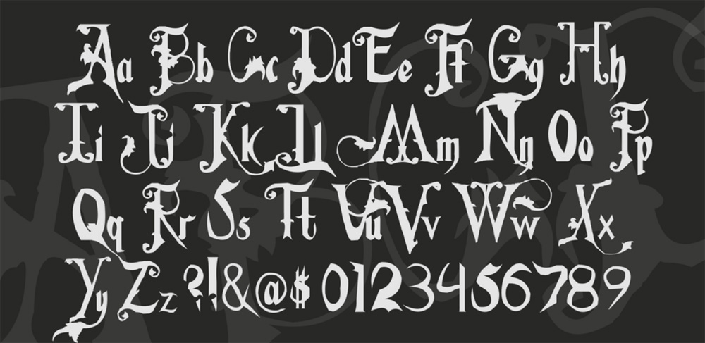 Serif Web Fonts from Fonts Collection